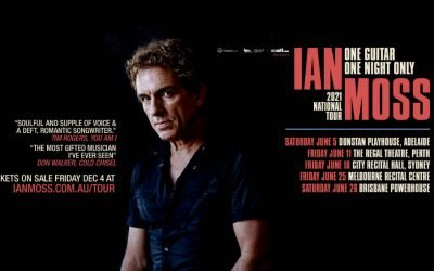 IAN MOSS ANNOUNCES ONE GUITAR ONE NIGHT ONLY  2021 NATIONAL TOUR